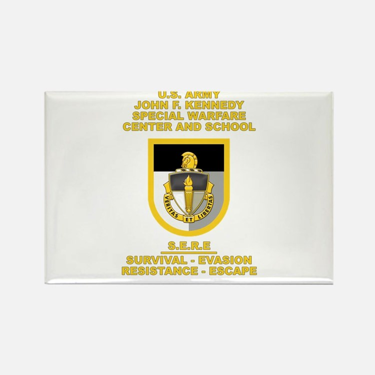 Special Warfare Center SERE Rectangle Magnet