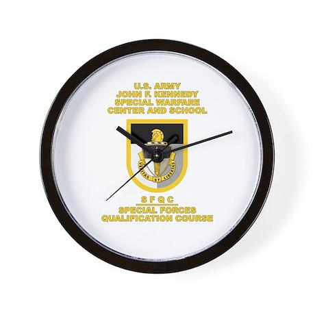 Special Warfare Center SFQC Wall Clock