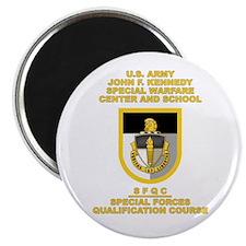 Special Warfare Center SFQC Magnet