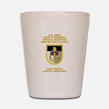 Special Warfare Center Shot Glass