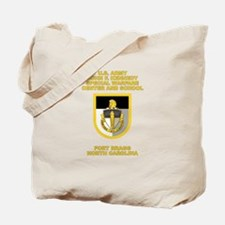 Special Warfare Center Tote Bag