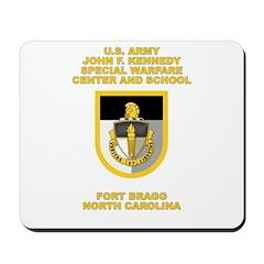 Special Warfare Center Mousepad