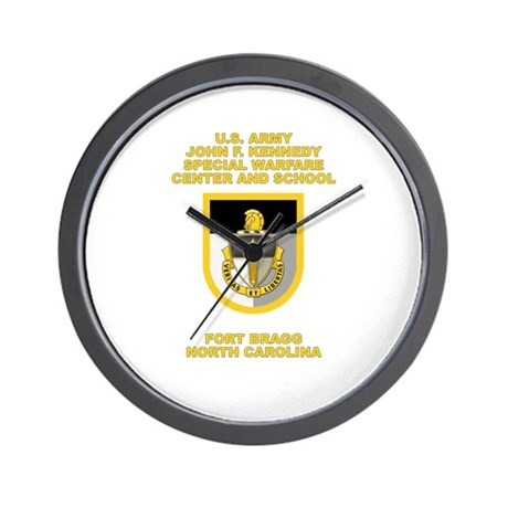 Special Warfare Center Wall Clock