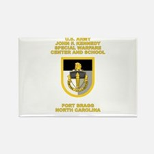 Special Warfare Center Rectangle Magnet