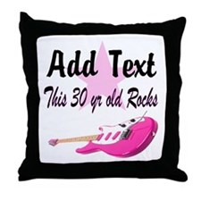 PERSONALIZED 30 YR OLD Throw Pillow