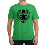 Egyptian Scarab Symbol Men's Fitted T-Shirt (dark)