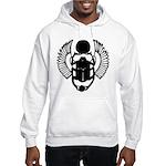 Egyptian Scarab Symbol Hooded Sweatshirt