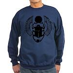 Egyptian Scarab Symbol Sweatshirt (dark)