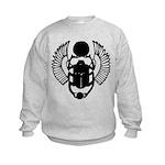 Egyptian Scarab Symbol Kids Sweatshirt