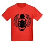 Egyptian Scarab Symbol Kids Dark T-Shirt