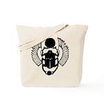 Egyptian Scarab Symbol Tote Bag