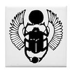 Egyptian Scarab Symbol Tile Coaster