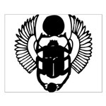Egyptian Scarab Symbol Small Poster