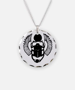 Egyptian Scarab Symbol Necklace