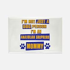 Anatolian shepherd Mommy Rectangle Magnet (10 pack