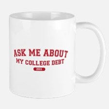 Ask Me College Debt 2011 Mug