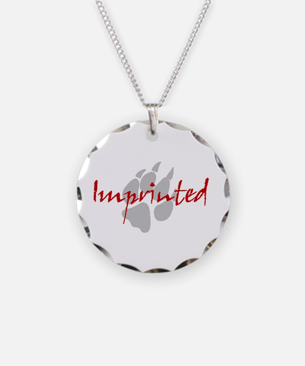 Imprinted Jacob Black Necklace