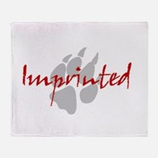 Imprinted Jacob Black Throw Blanket