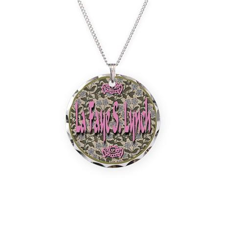 La Faye S. Lynch Necklace Circle Charm