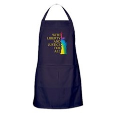 RAINBOW LIBERTY Apron (dark)