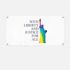 RAINBOW LIBERTY Banner
