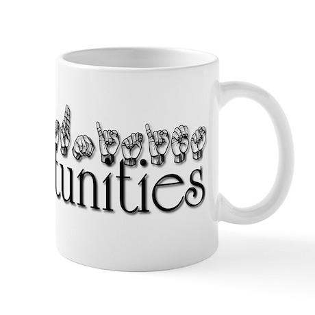 Opportunities Mug