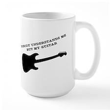 Nobody Understands Me But My Guitar Mugs