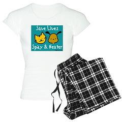 Save Lives Spay & Neuter Pajamas
