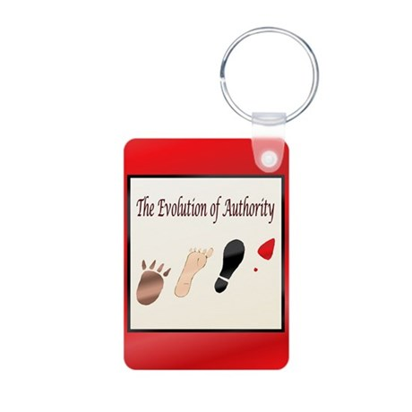 Authority Aluminum Photo Keychain