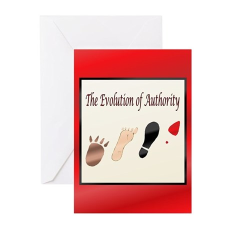 Authority Greeting Cards (Pk of 10)