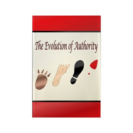 Authority Rectangle Magnet (100 pack)