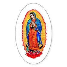 Virgin of Guadalupe Decal
