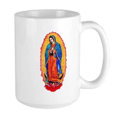 Virgin of Guadalupe Large Mug