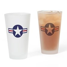 USA Roundel Pint Glass