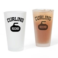 Curling Rocks! Pint Glass