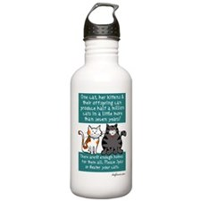 Half a Million Cats - Spay Ne Water Bottle