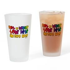 Spay Neuter Rainbow Pint Glass