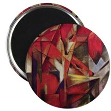"""Foxes 2.25"""" Magnet (10 pack)"""