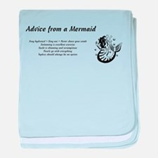 Cute Mermaid baby blanket