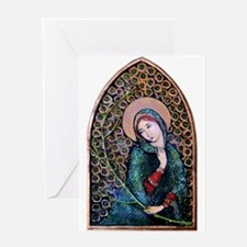 Blessed Virgin Mary 3 Greeting Card