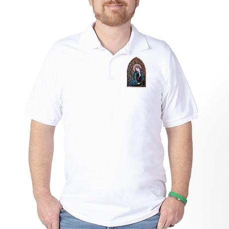 Blessed Virgin Mary 3 Golf Shirt