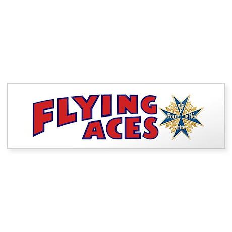 Flying Aces Club Bumper Sticker
