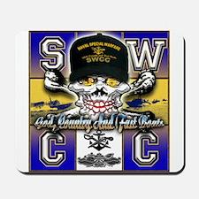 USN SWCC Skull & Bones Mousepad