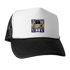 USN SWCC Skull & Bones Trucker Hat
