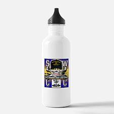 USN SWCC Skull & Bones Water Bottle