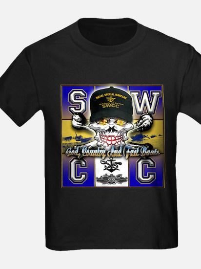 USN SWCC Skull & Bones T