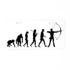 Evolution of Archery Aluminum License Plate