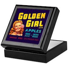 Golden Girl Vintage Label Keepsake Box