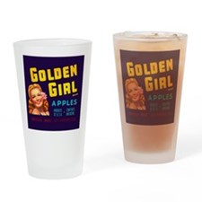 Golden Girl Vintage Label Pint Glass