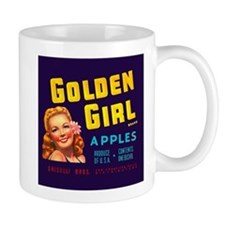 Golden Girl Vintage Label Mug